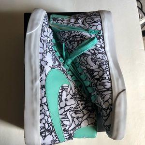 Nike Shoes - Custom floral Nike sneakers